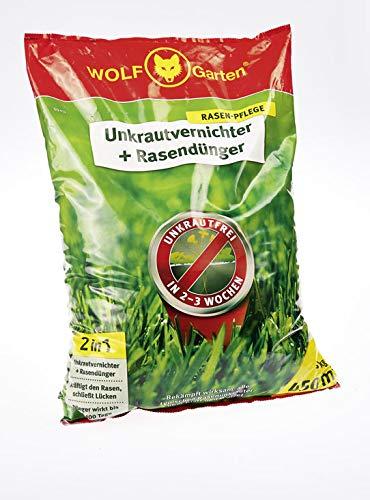 WOLF-Garten 2-in-1: Unkrautvernichter plus Rasendünger - 2